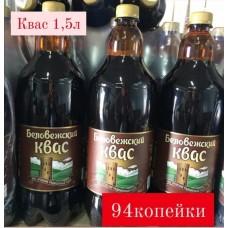 Квас Беловежский 1,5л